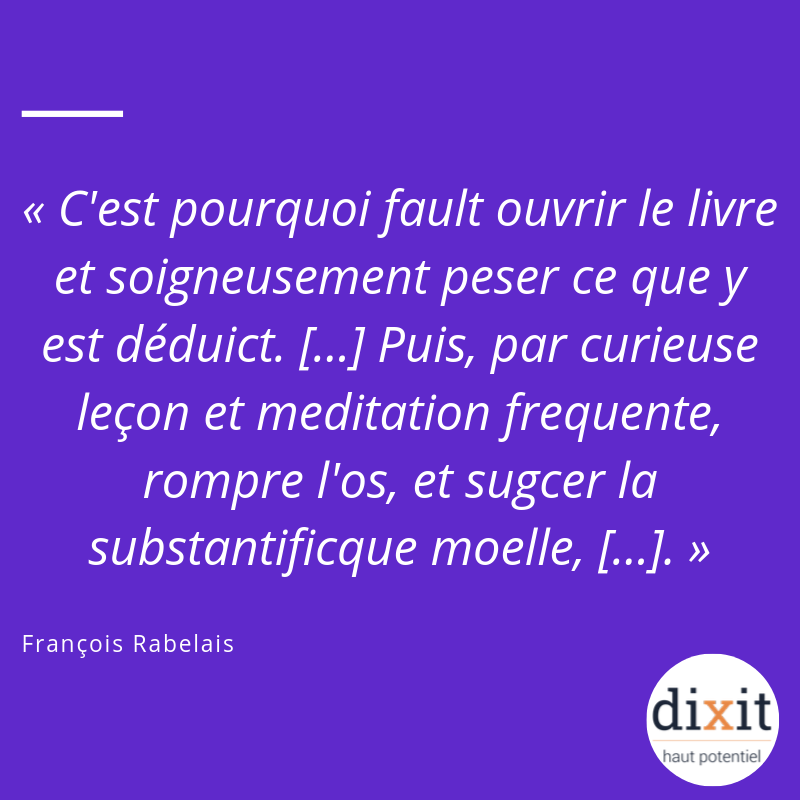 Citation de François Rabelais